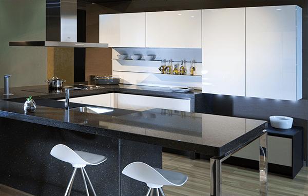 Una cocina con isla ugon vizcaya for Cocinas con isla y salon